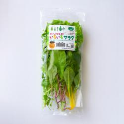 いおいろサラダ パッケージ表